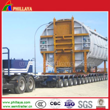 30-350 Tons Lowbed Goldhofer Hydraulic Axis Modular Trailer